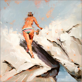 Johnny Morant - Ascent sketch