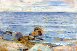 Edvard Munch - Asgardbeach