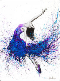 Ashvin Harrison - Ashvin Harrison Art  Evening Sky Dancer