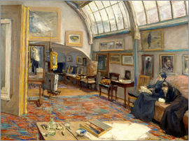 Max Liebermann - The Artist's Studio