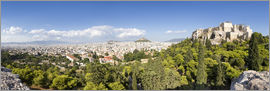 Jan Christopher Becke - Athens panorama with skyline and acropolis
