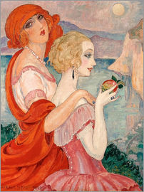 Gerda Wegener - On the road to Anacapri