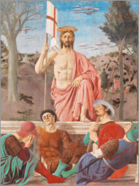 Piero della Francesca - The Resurrection of Christ