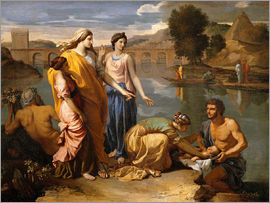 Nicolas Poussin - Discovery of the Moses baby