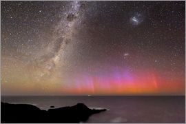 Alex Cherney - Aurora australis and Milky Way