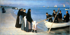Peder Severin Kroyer - Departure of the fishermen, Skagen