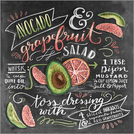 Lily & Val - Avocado Grapefruit Salad