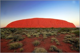 I. Schulz - Ayers Rock at sunrise