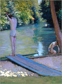 Gustave Caillebotte - Bathers on the banks of the Yerres