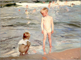 Joaquin Sorolla y Bastida - Children on the beach of Valencia