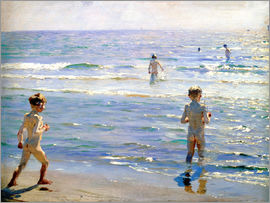 Peder Severin Kroyer - Bathing Boys