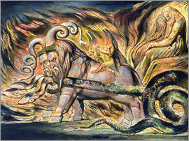 Image result for william blake monsters