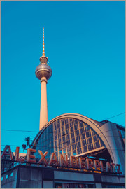 Railroad station Alexanderplatz