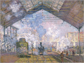 Claude Monet - The Gare St. Lazare