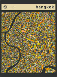 Jazzberry Blue - BANGKOK MAP