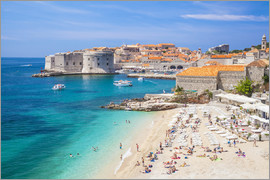 Neale Clarke - Banje beach, Old Port and Dubrovnik Old Town