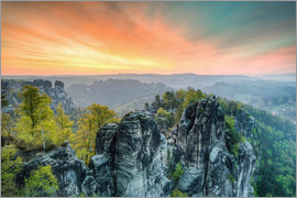Michael Valjak - Bastion Saxon Switzerland Sunrise