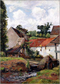 Paul Gauguin - Farm in Osny