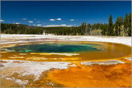 Circumnavigation - Beauty Pool, Yellowstone National Park