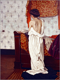 Felix Edouard Vallotton - Getting Dressed