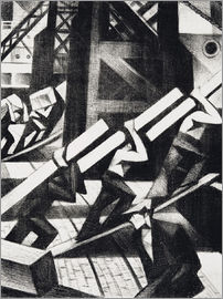 Christopher Nevinson - loading the ship