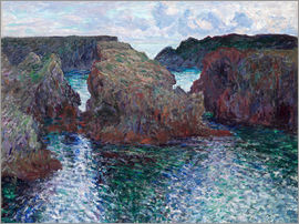 Claude Monet - Belle-ile-Port Goulphare