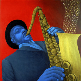 Larry Smart - Ben Webster plays saxophone