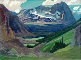 James Edward Hervey MacDonald - Mount Oderay, Rockies