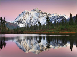 Alan Majchrowicz - Mount Shukan Reflection II