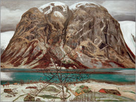 Nikolai Astrup - Mountain Tops