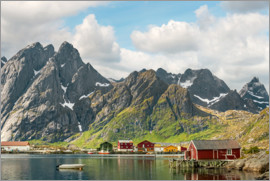 Olaf Protze - Mountain Landscape | Lofoten Islands | Norway