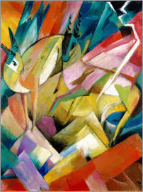 Franz Marc - mountain goats
