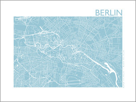 44spaces - BERLIN MAP ice
