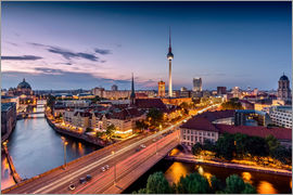 Kristian Goretzki - Berlin | Nightfall in the capital town