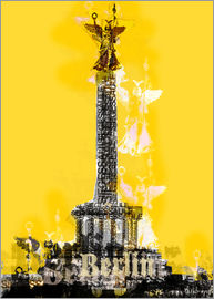 JASMIN! - Berlin Victory Column (on Yellow)