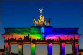 Frank Herrmann - Berlin skyline at the Brandenburg Gate