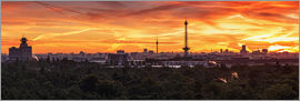 Frank Herrmann - Berlin Skyline Sunset - Panorama