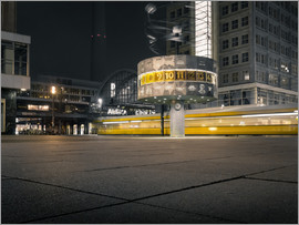 Sven Hilscher - Alexanderplatz Berlin at Morning Time
