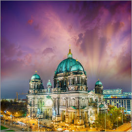 Berliner Dom - German Cathedral at sunset