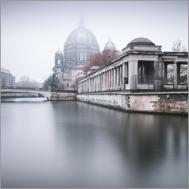 Philipp Dase - Berlin Cathedral in winter fog