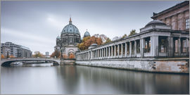 Philipp Dase - Berlin Cathedral in autumn colors