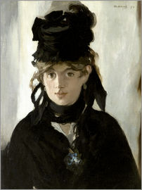 Edouard Manet - Berthe Morisot with a Bouquet of Violets 1872