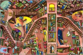 Colin Thompson - Library