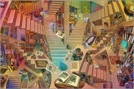 Garry Walton - Library of the Mind
