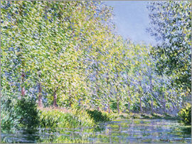 Claude Monet - Bend the Epte near Giverny
