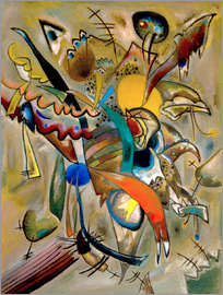 Wassily Kandinsky - Picture with Spikes