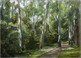Max Liebermann - Birch Grove in Wannsee