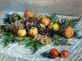 Claude Monet - Still-life with fruit