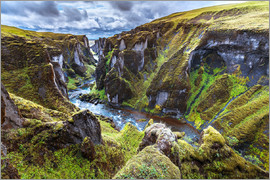 Sascha Kilmer - Incredible volcanic Canyon on Iceland
