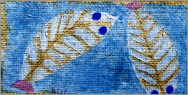 Paul Klee - Blue-eyed fish